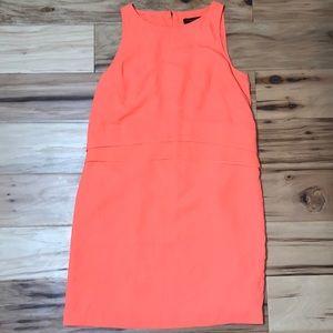 Banana Republic Sz 0P orange dress